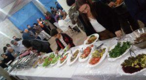 Jantar no Bosque das Palmeiras Foto: Cris Bordin